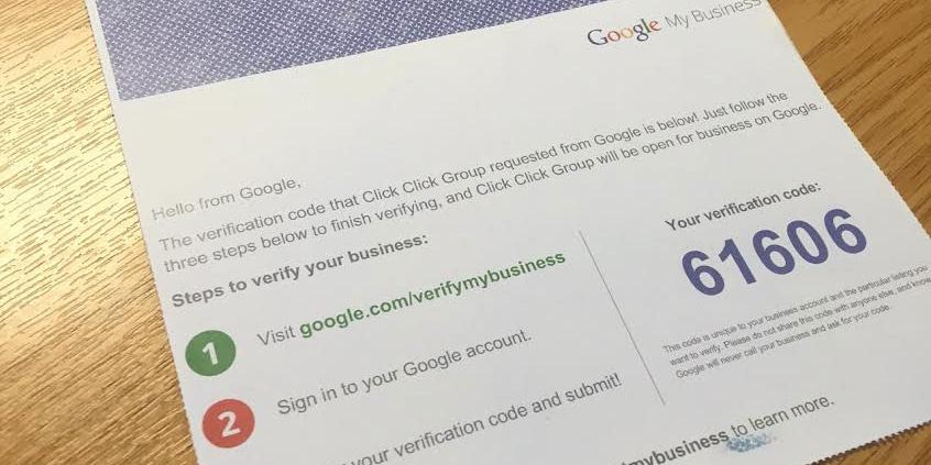 Подтверждение аккаунта Google