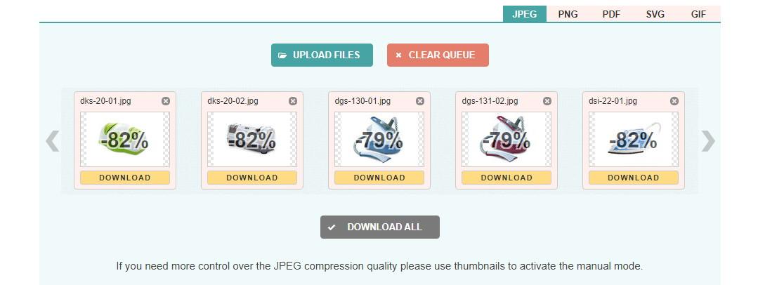 Онлайн сервис CompressJPEG