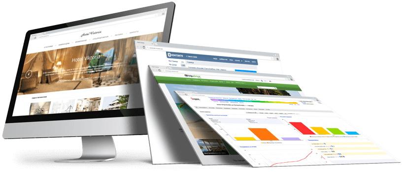 Создание корпоративных сайтов под ключ